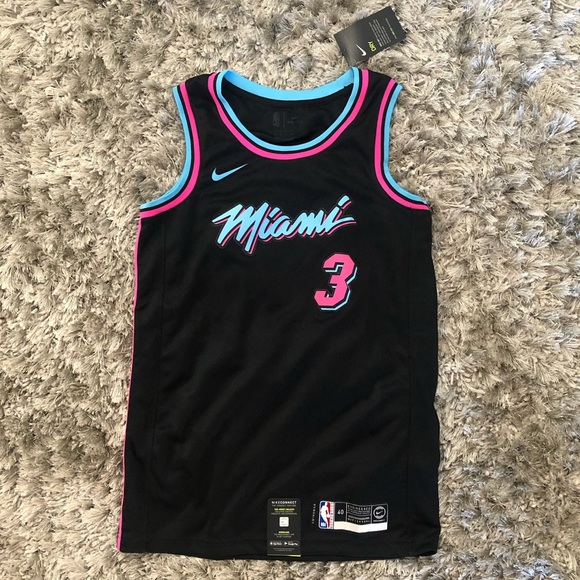 huge selection of dccf9 d02a0 Dwyane Wade Miami Heat Vice City Jersey